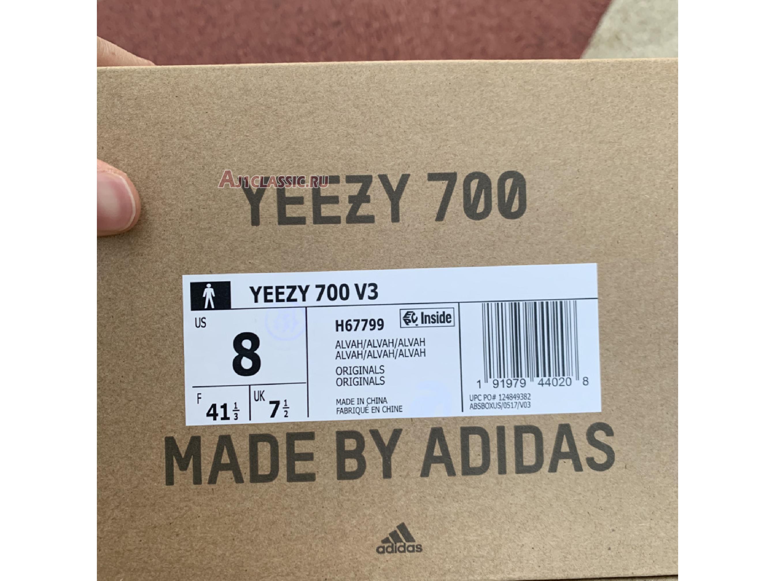 "Adidas Yeezy 700 V3 ""Alvah"" H67799"