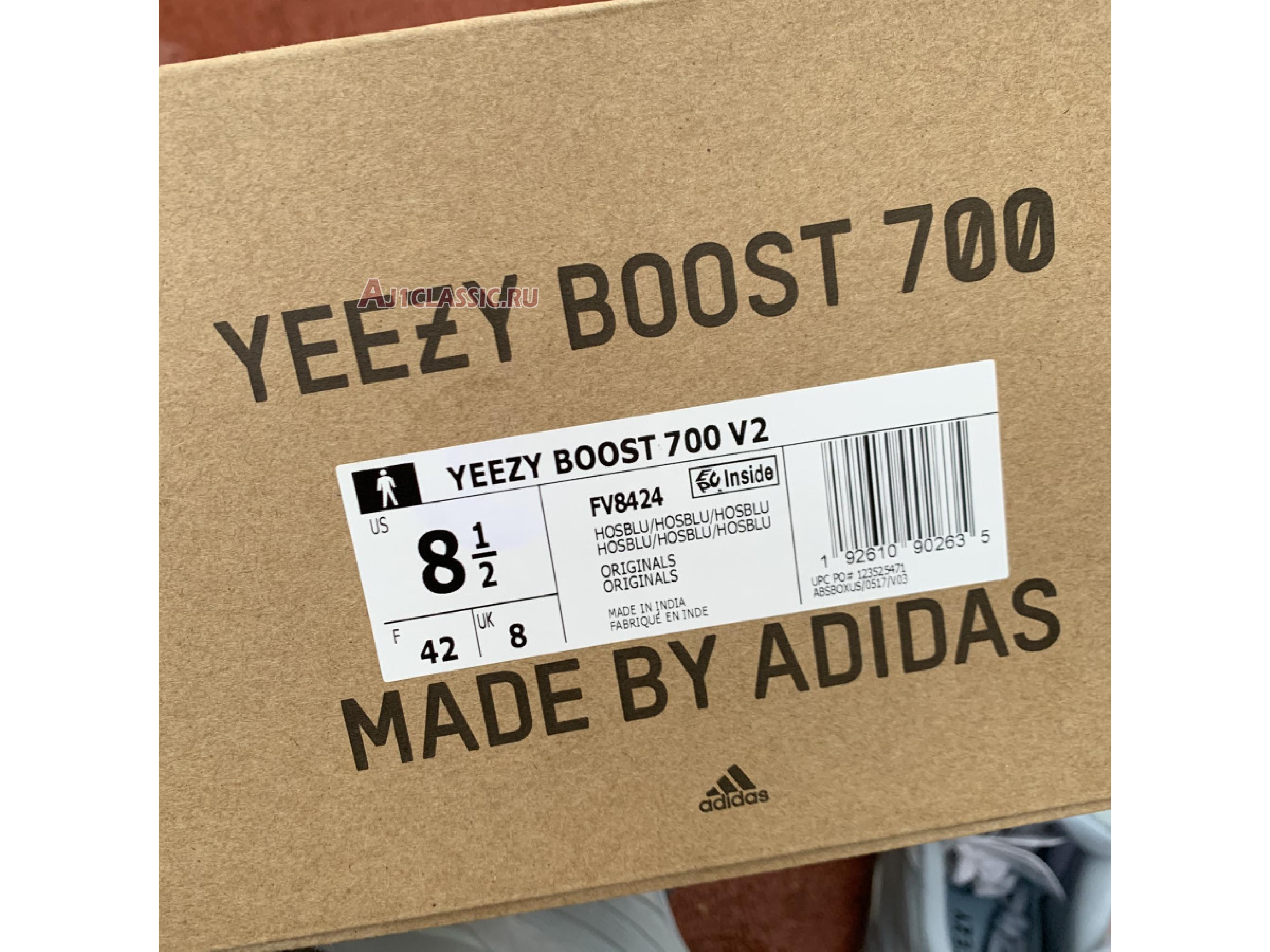 """Adidas Yeezy Boost 700 V2 """"Hospital Blue"""" FV8424"""