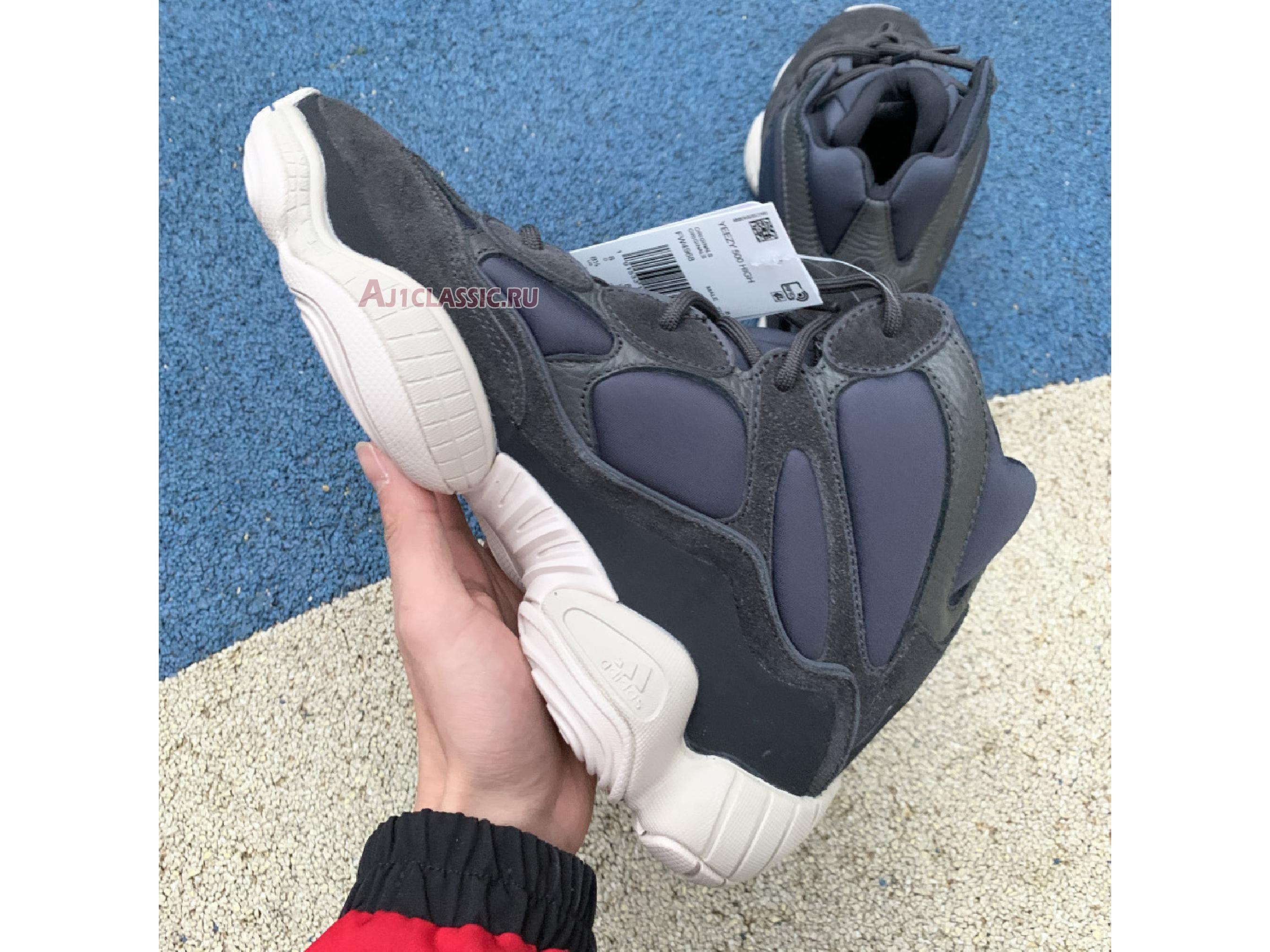 """Adidas Yeezy 500 High """"Slate"""" FW4968"""