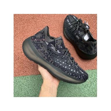 Adidas Yeezy Boost 380 Triple Black FB7876 Black/Black/Black Sneakers