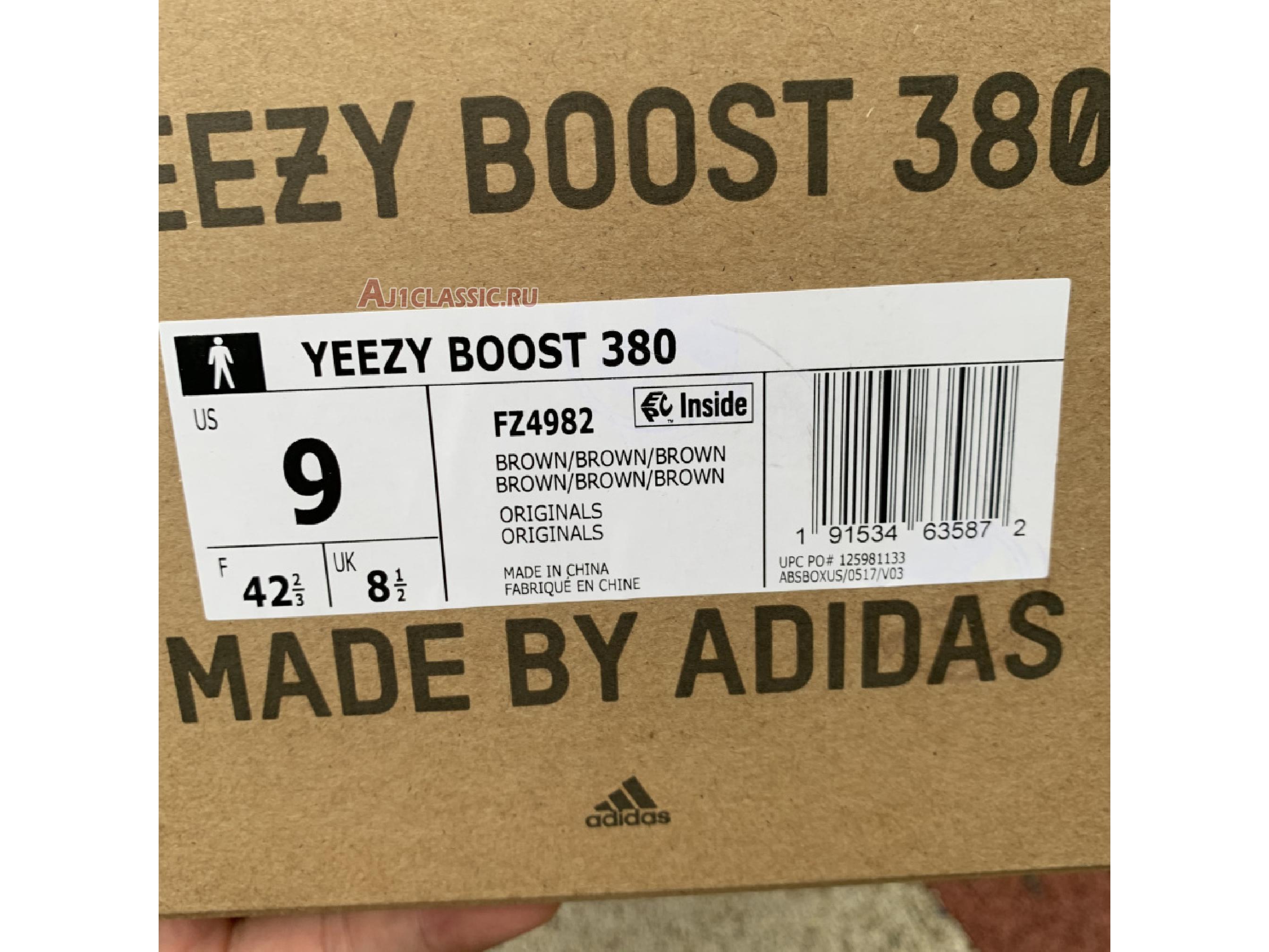 "Adidas Yeezy Boost 380 ""LMNTE"" FZ4982"