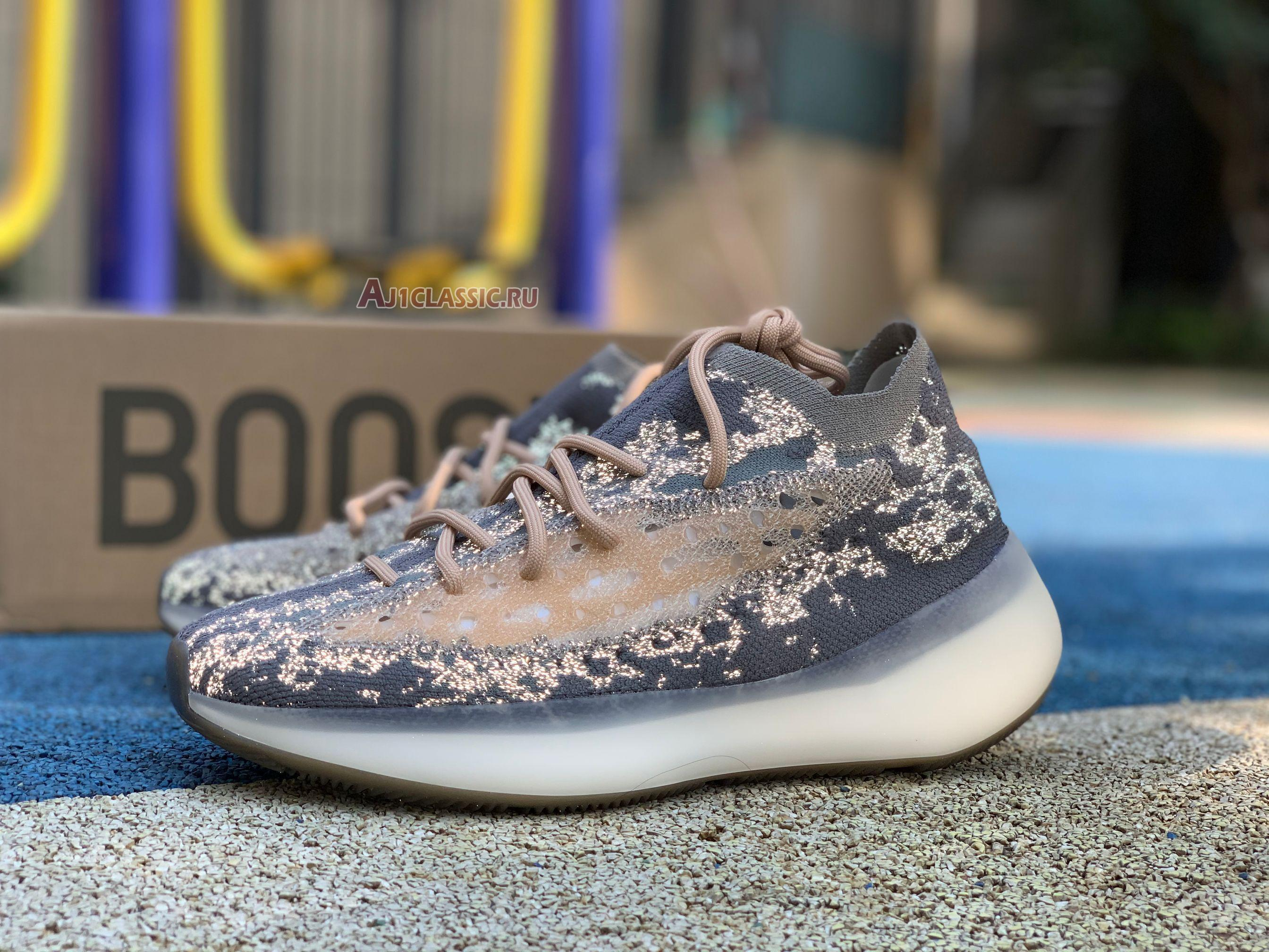 "Adidas Yeezy Boost 380 ""Mist Reflective"" FX9846"