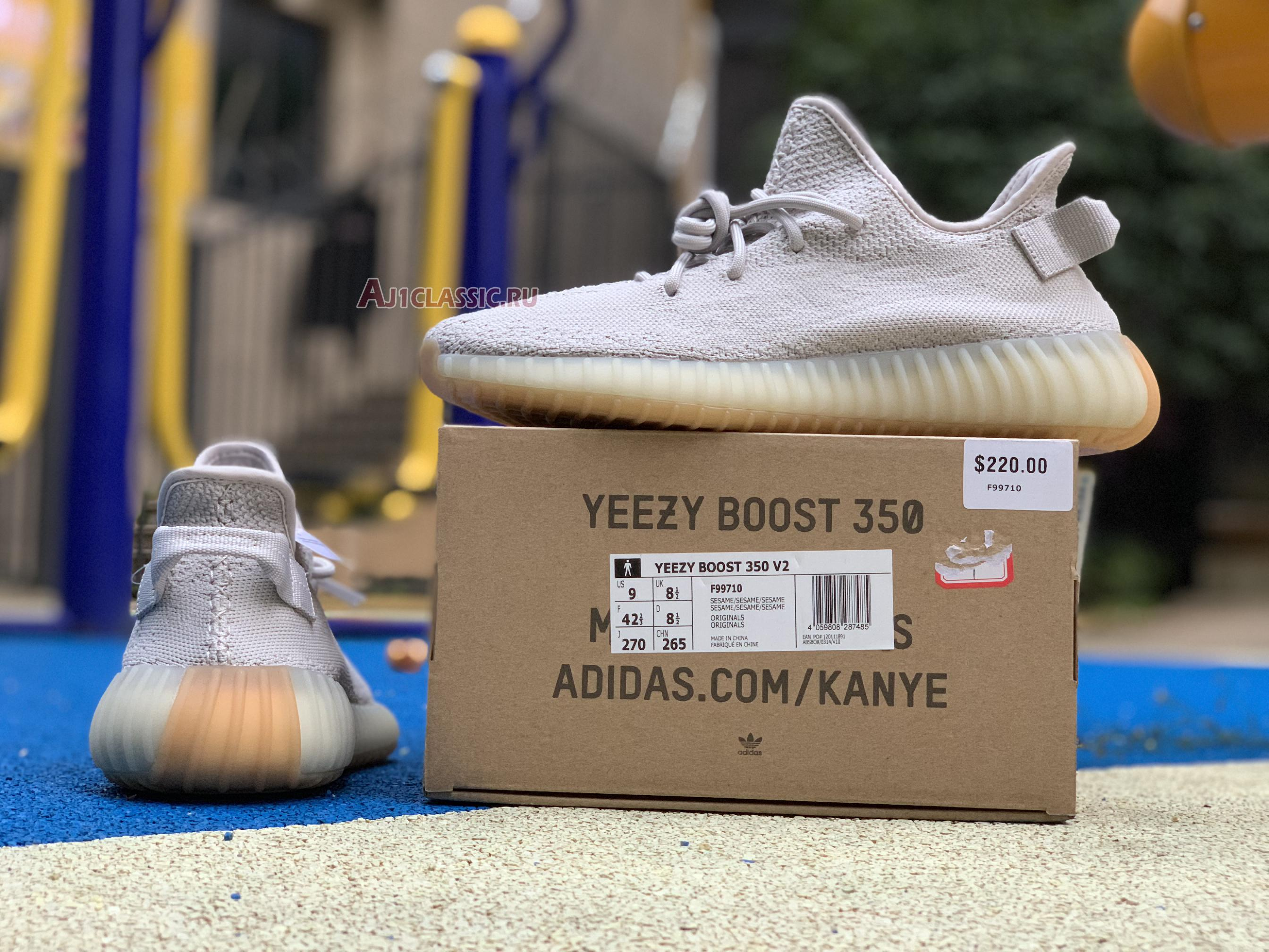 "Adidas Yeezy Boost 350 V2 ""Sesame"" F99710"
