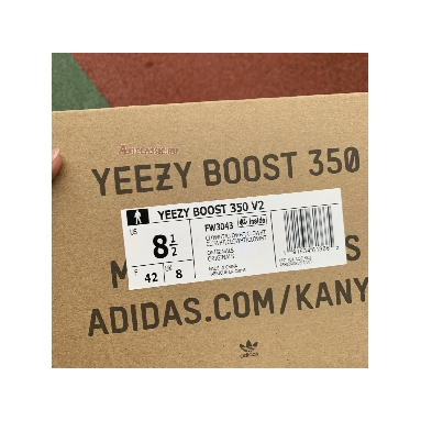 Adidas Yeezy Boost 350 V2 Cloud White Non-Reflective FW3043 Cloud White/Cloud White Sneakers