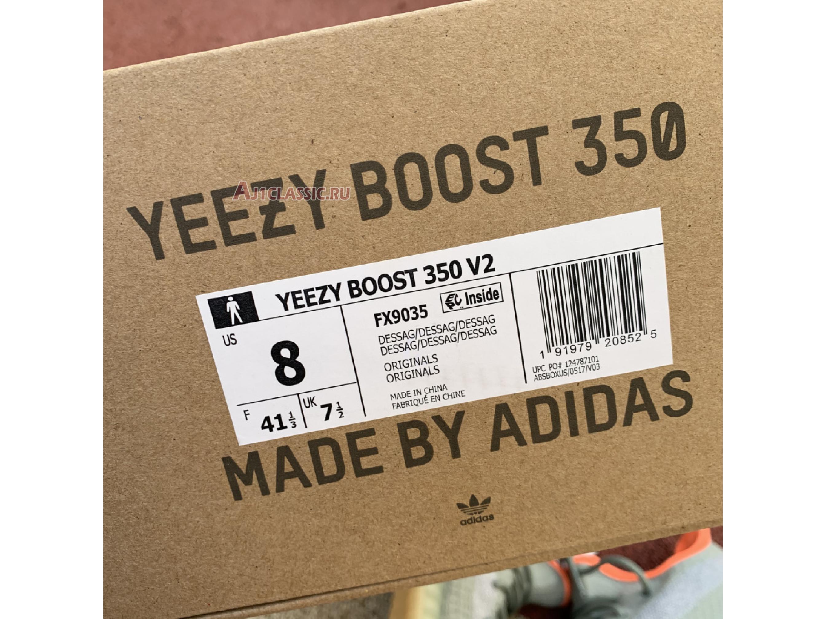 """Adidas Yeezy Boost 350 V2 """"Desert Sage"""" FX9035"""