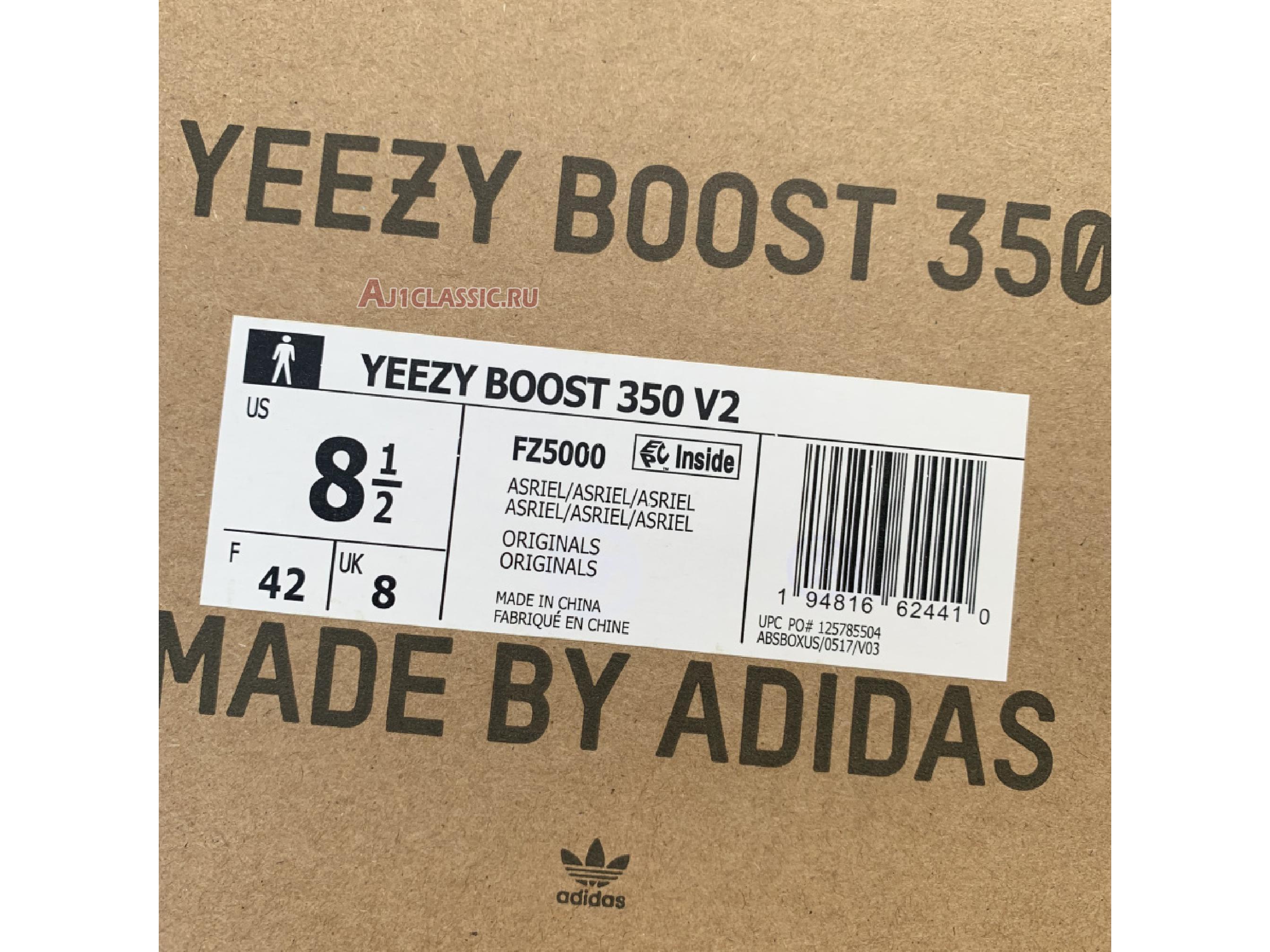 """Adidas Yeezy Boost 350 V2 """"Carbon"""" FZ5000"""