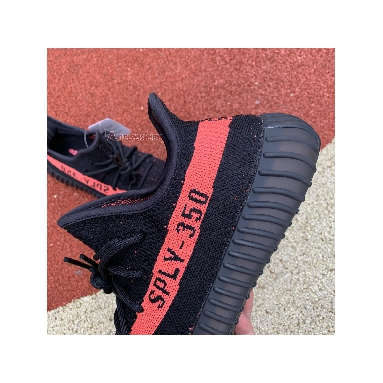 Adidas Yeezy Boost 350 V2 Red BY9612 Core Black/Red/Core Black Sneakers