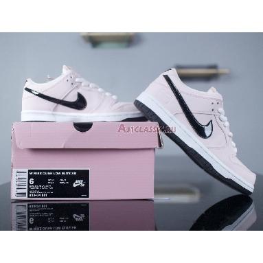 Nike SB Dunk Low Pink Box 833474-601 Prism Pink/Black-White Sneakers