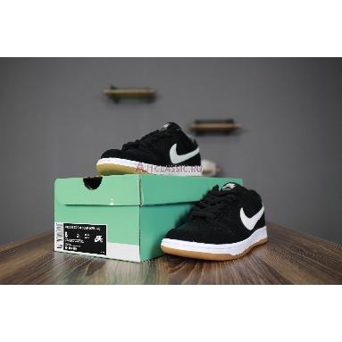 Nike Zoom Dunk Low Pro SB Black Gum 854866-019 Black/White-Gum Light Brown Sneakers