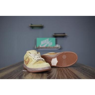 Nike SB Dunk Low Reverse Reese Forbes Wheat 883232-700 Dune/Twig/Wheat-Gum Medium Brown Sneakers