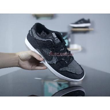 MEDICOM TOY x Nike SB Dunk Low BE@RBRICK 877063-002 Black/Black-White-Medium Grey Sneakers