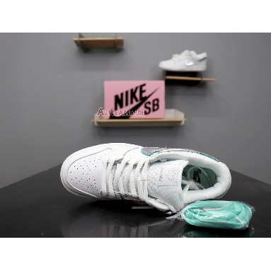 Nike Diamond Supply Co. x Dunk Low Pro SB White Diamond BV1310-100 White/Chrome-White Sneakers