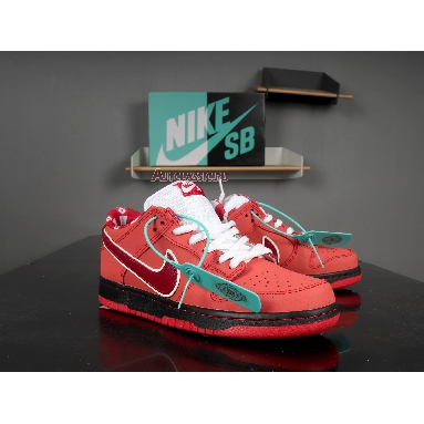 Nike SB Dunk Low Lobster 313170-661 Sport Red/Pink Clay Sneakers