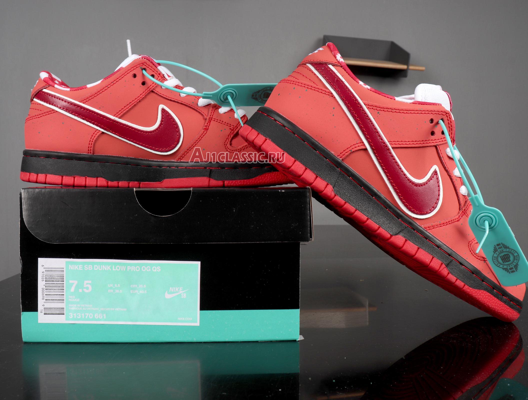 "Nike SB Dunk Low ""Lobster"" 313170-661"