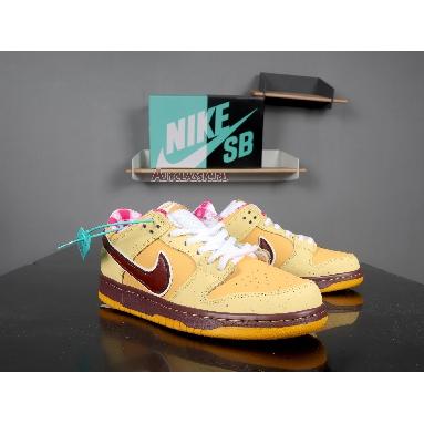 Nike Dunk Low Premium SB Yellow Lobster 313170-137 Yellow Ochre/Terra Brown Sneakers