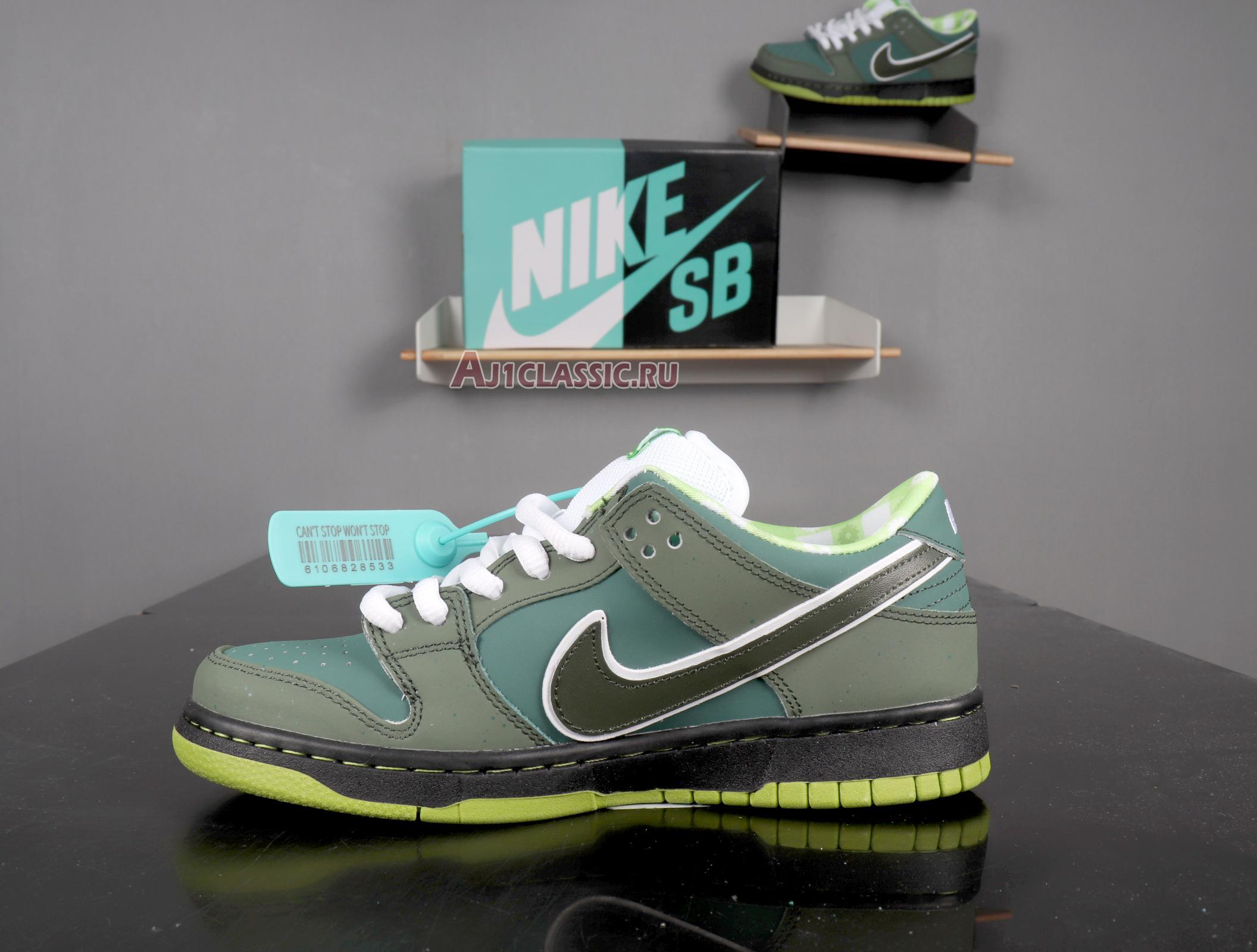 """Nike Concepts x Dunk Low SB """"Green Lobster"""" Special Box BV1310-337"""