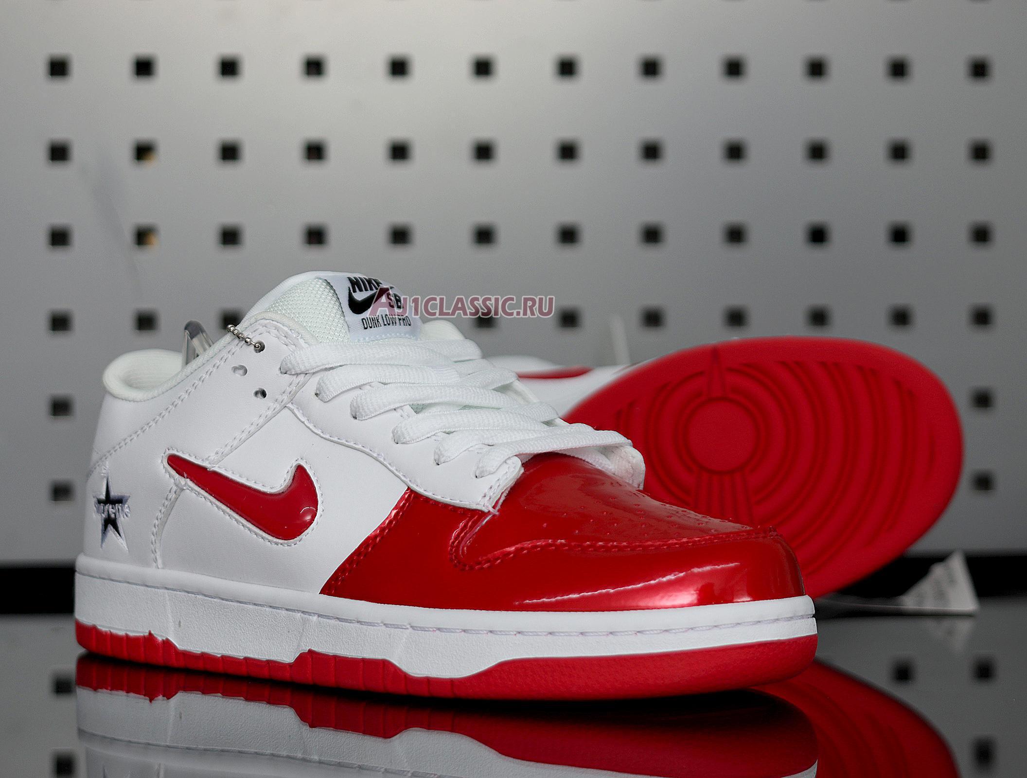 """Nike Supreme x Dunk SB Low """"Varsity Red"""" CK3480-600"""