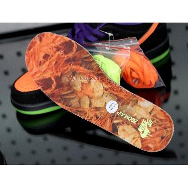 Nike Dunk Low SB Night of Mischief BQ6817-006 Black/Total Orange-Court Purple-Volt Sneakers