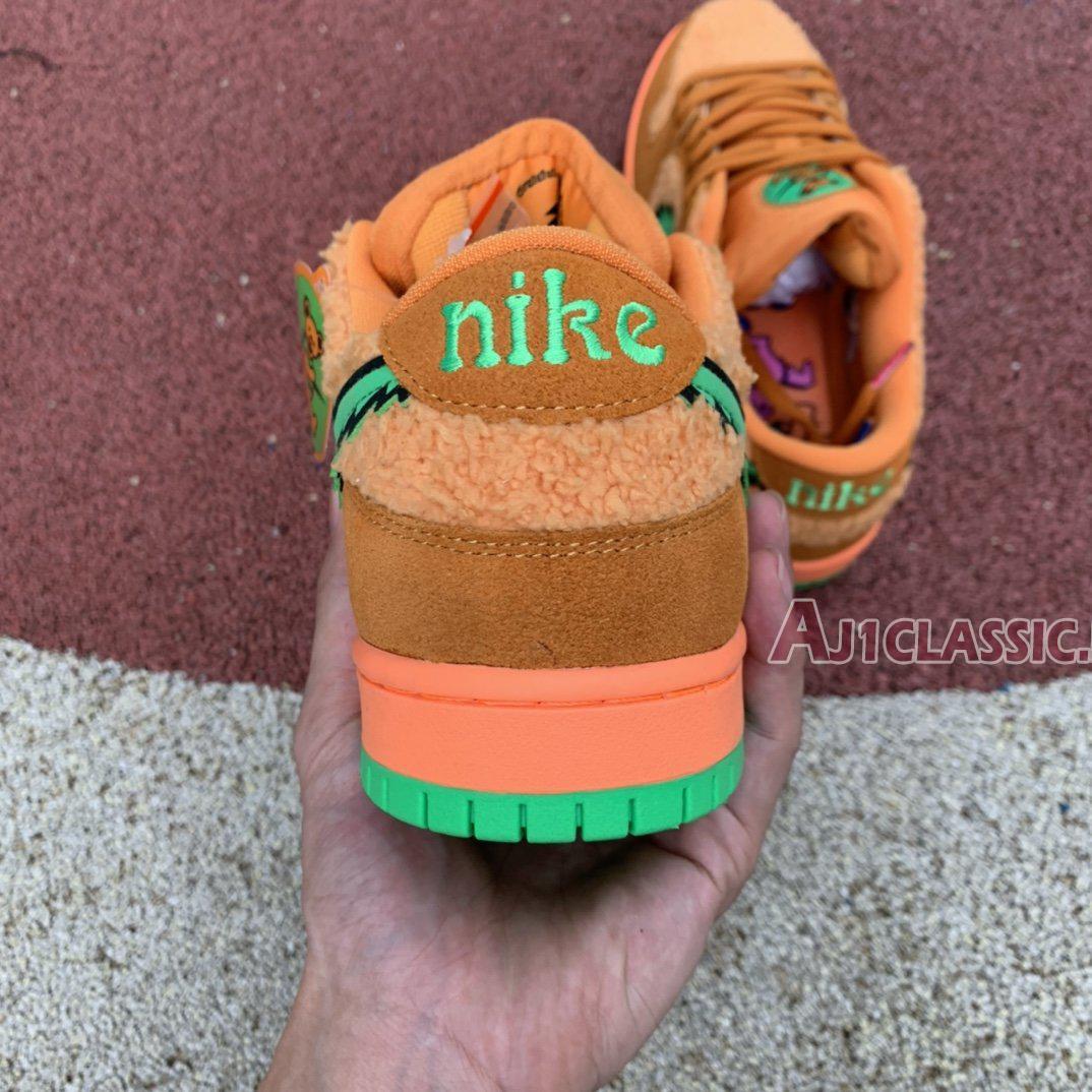 "Grateful Dead x Nike SB Dunk Low ""Orange Bear"" CJ5378-800"