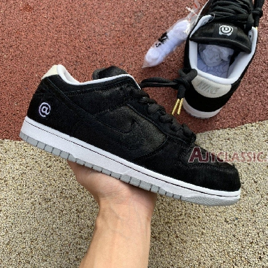 Medicom Toy x Nike SB Dunk Low BE@RBRICK CZ5127-001 Black/White-Black Sneakers