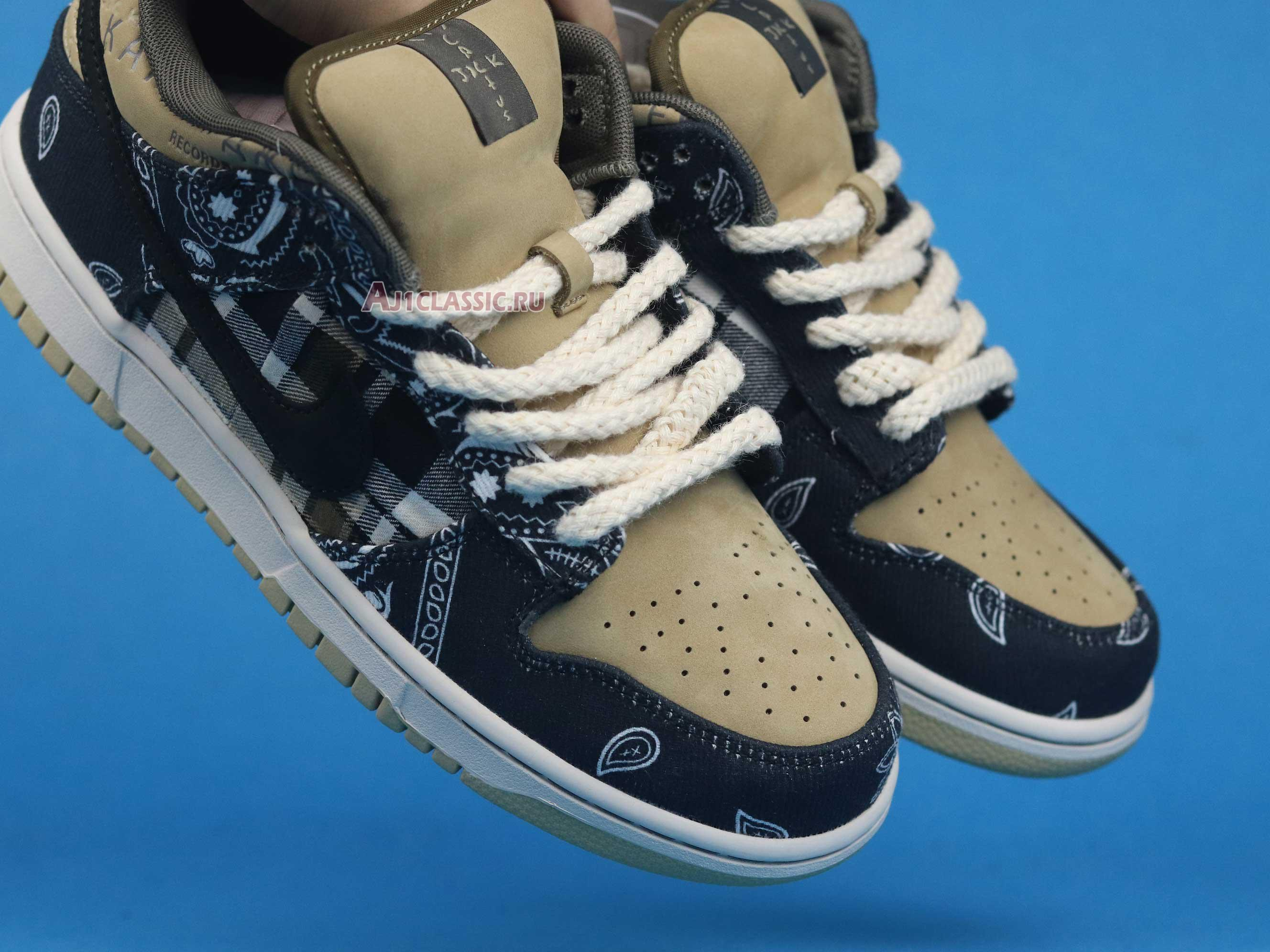"""Nike Travis Scott x Dunk Low Premium QS SB """"Cactus Jack"""" CT5053-001"""