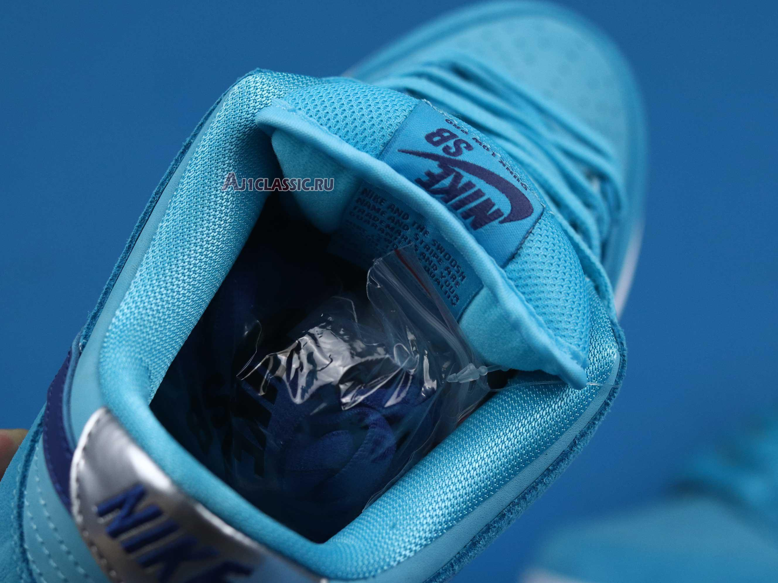 "Nike Dunk Low SB ""Blue Fury"" BQ6817-400"