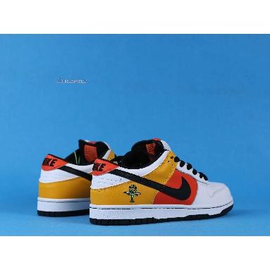 Nike Dunk Low Pro SB Raygun 304292-802 Orange Flash/Black-White Sneakers