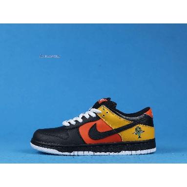 Nike Dunk Low Pro SB Raygun 304292-803 Orange Flash/Black-Black Sneakers