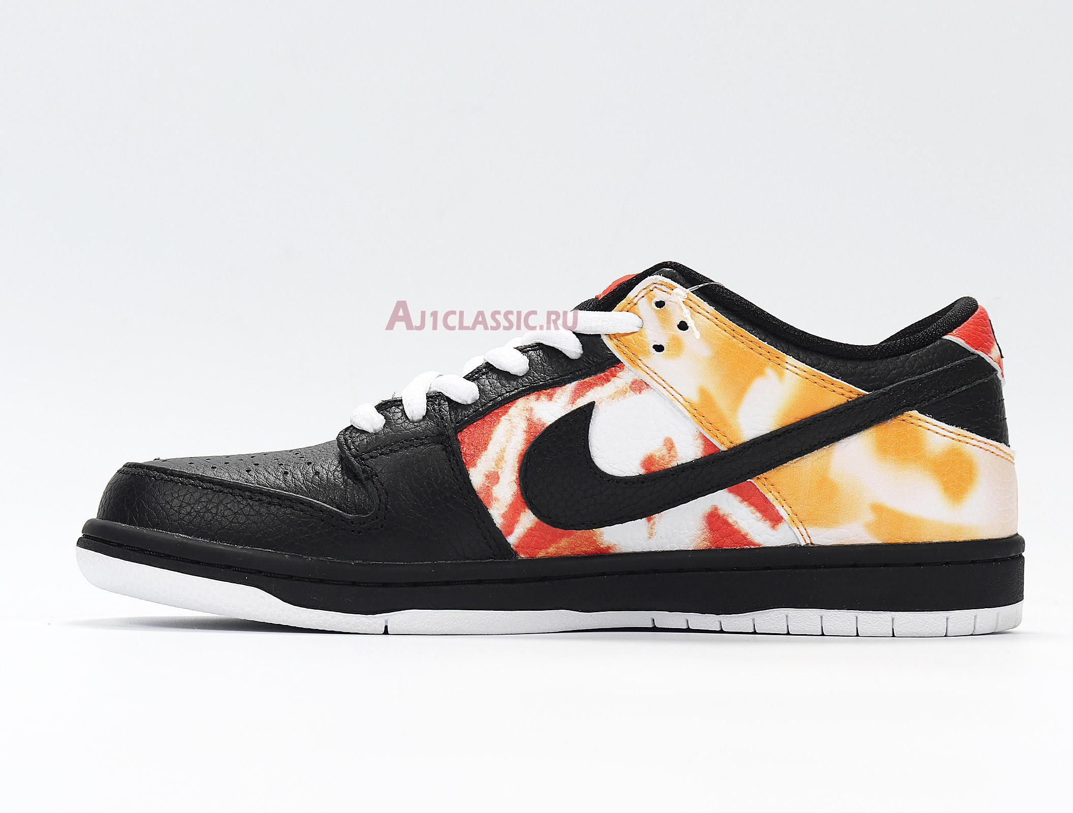 "Nike Dunk SB Low ""Tie-Dye Raygun - Black"" BQ6832-001"