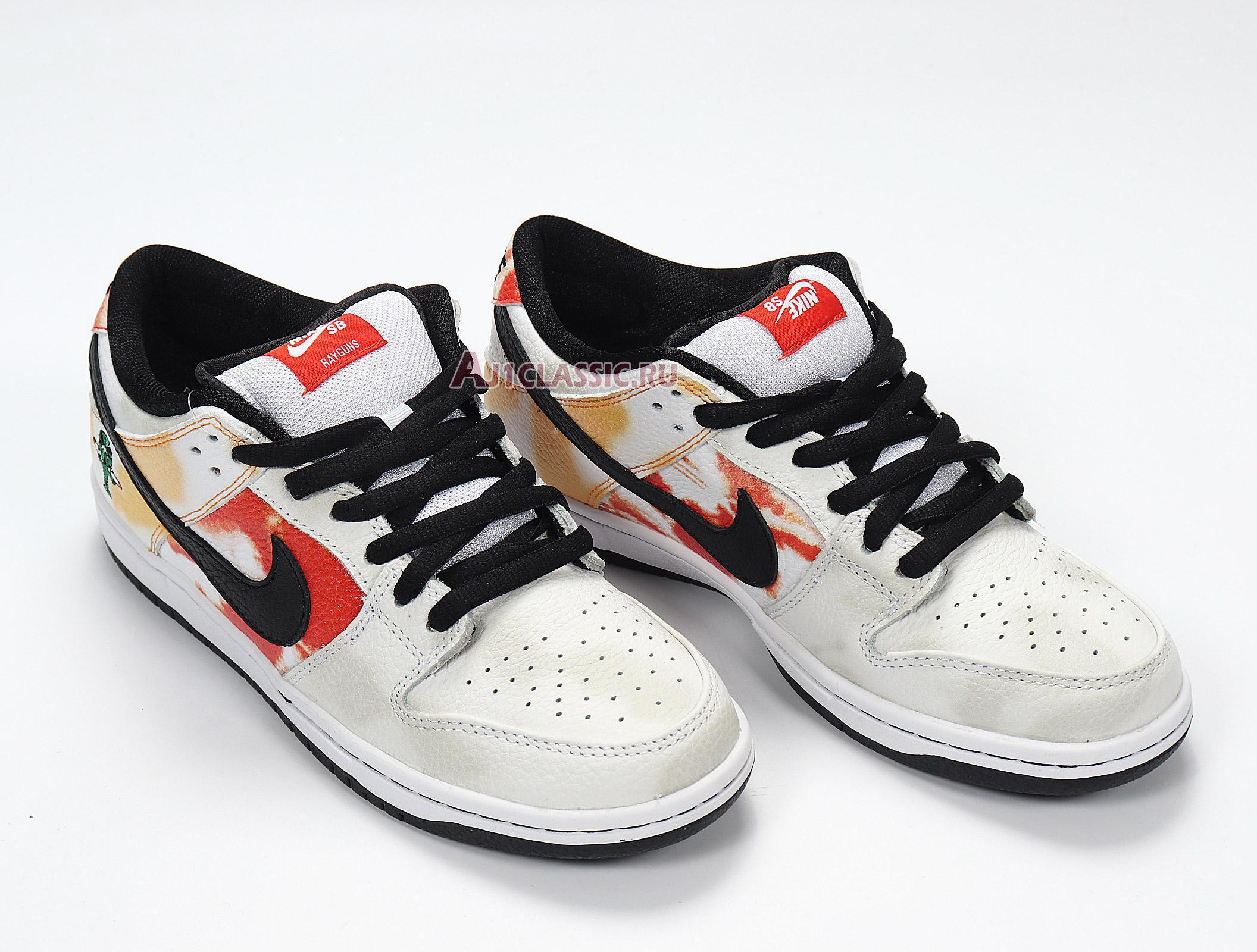 """Nike Dunk SB Low """"Tie-Dye Raygun - White"""" BQ6832-101"""