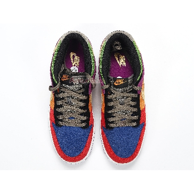 Nike Dunk Low SP Retro Viotech 2019 CT5050-500 Viotech/Red/Blue/Purple/Orange/Black/Green Sneakers