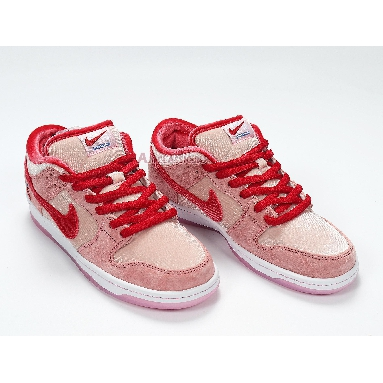 Nike StrangeLove x Dunk Low SB Valentines Day CT2552-800 Bright Melon/Gym Red/Med Soft Pink Sneakers