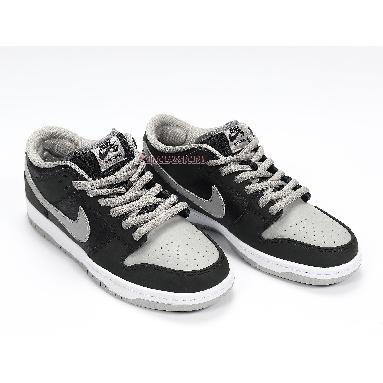 Nike Dunk Low SB J-Pack Shadow BQ6817-007 Black/Medium Grey-Black-White Sneakers
