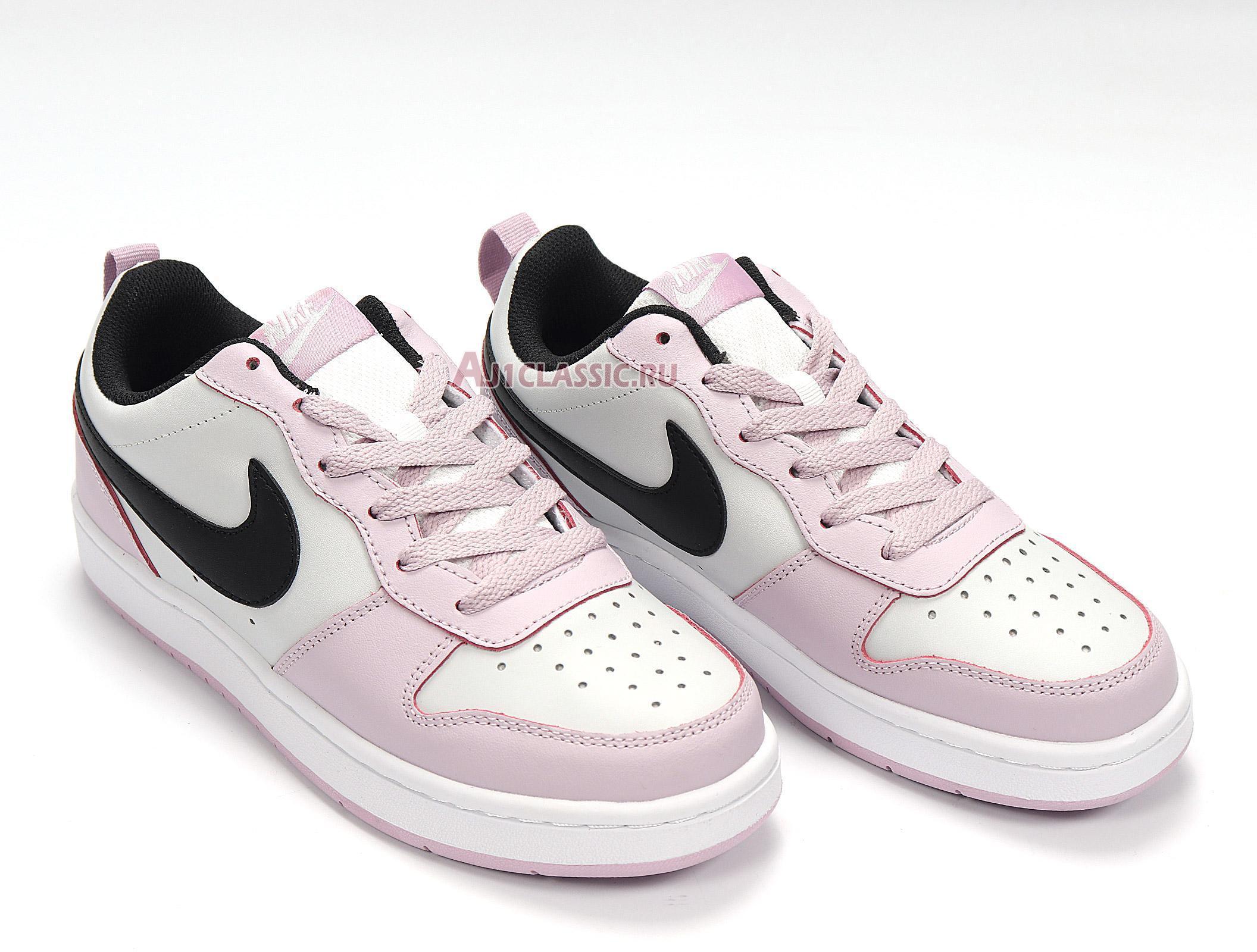"""Nike Court Borough Low 2 GS """"Photon Dust Off Noir"""" BQ5448-005"""