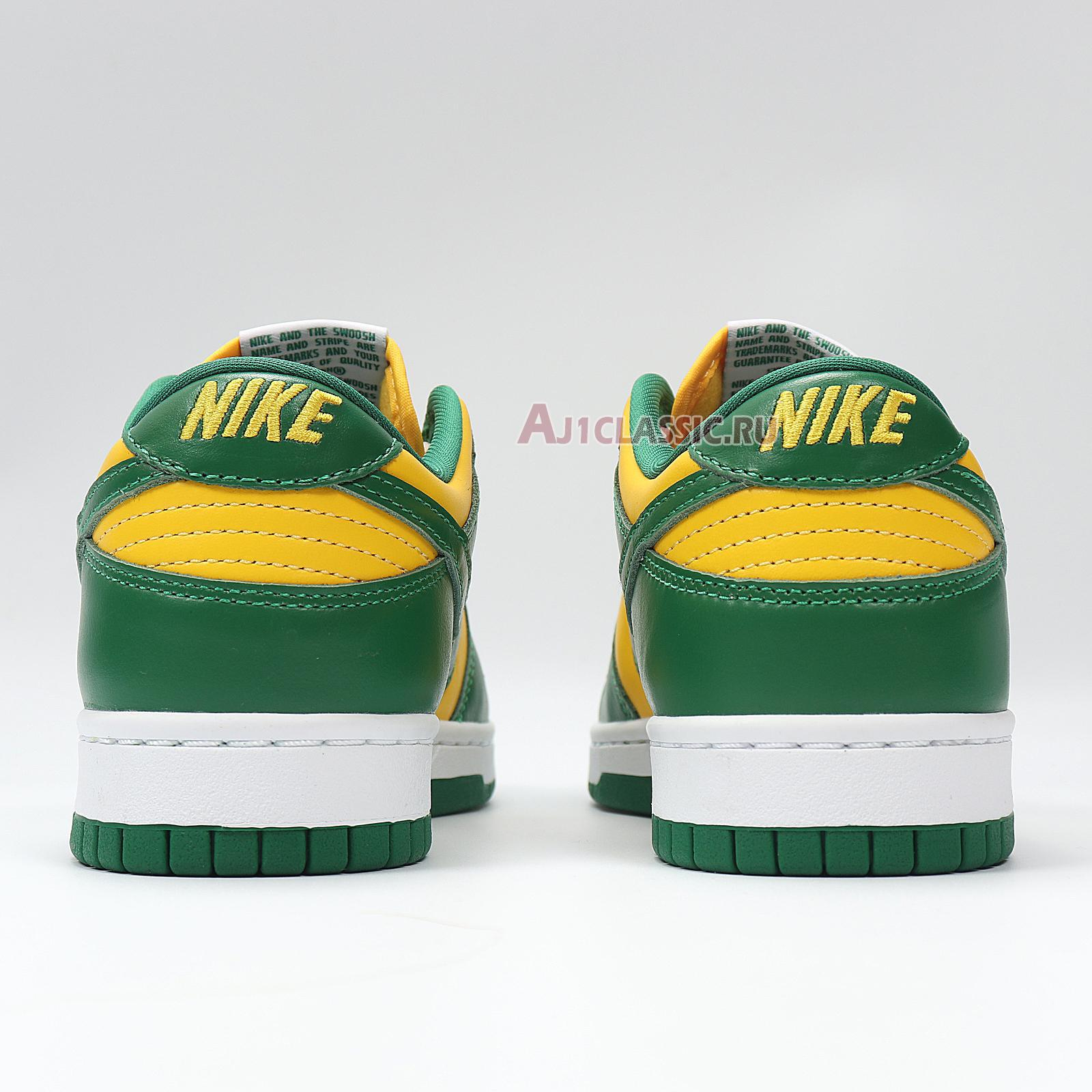 "Nike Dunk Low SP ""Brazil"" 2020 CU1727-700"