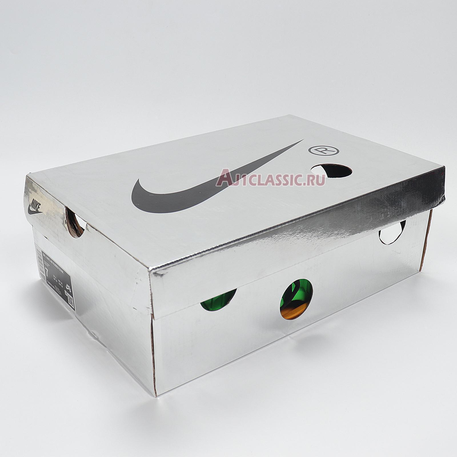 "Nike Off-White x Air Rubber Dunk ""Green Strike"" CU6015-001"