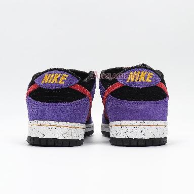 Nike Dunk Low Pro SB ACG Terra BQ6817-008 Black/Sunburst-Varsity Purple-Taxi Sneakers