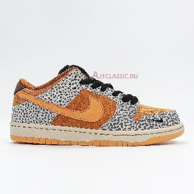Nike Dunk Low Pro SB Safari CD2563-002 Neutral Grey/Kumquat-Desert Ochre Sneakers