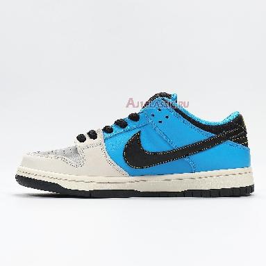 Instant Skateboards x Nike SB Dunk Low CZ5128-400 Blue Hero/Pale Ivory/Black Sneakers