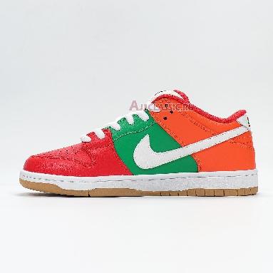 Nike 7-Eleven x Dunk Low SB CZ5130-600 Orange Peel/Pine Green/University Red Sneakers