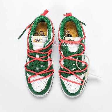 Nike Off-White x Dunk Low Pine Green CT0856-100 White/Pine Green-Pine Green Sneakers