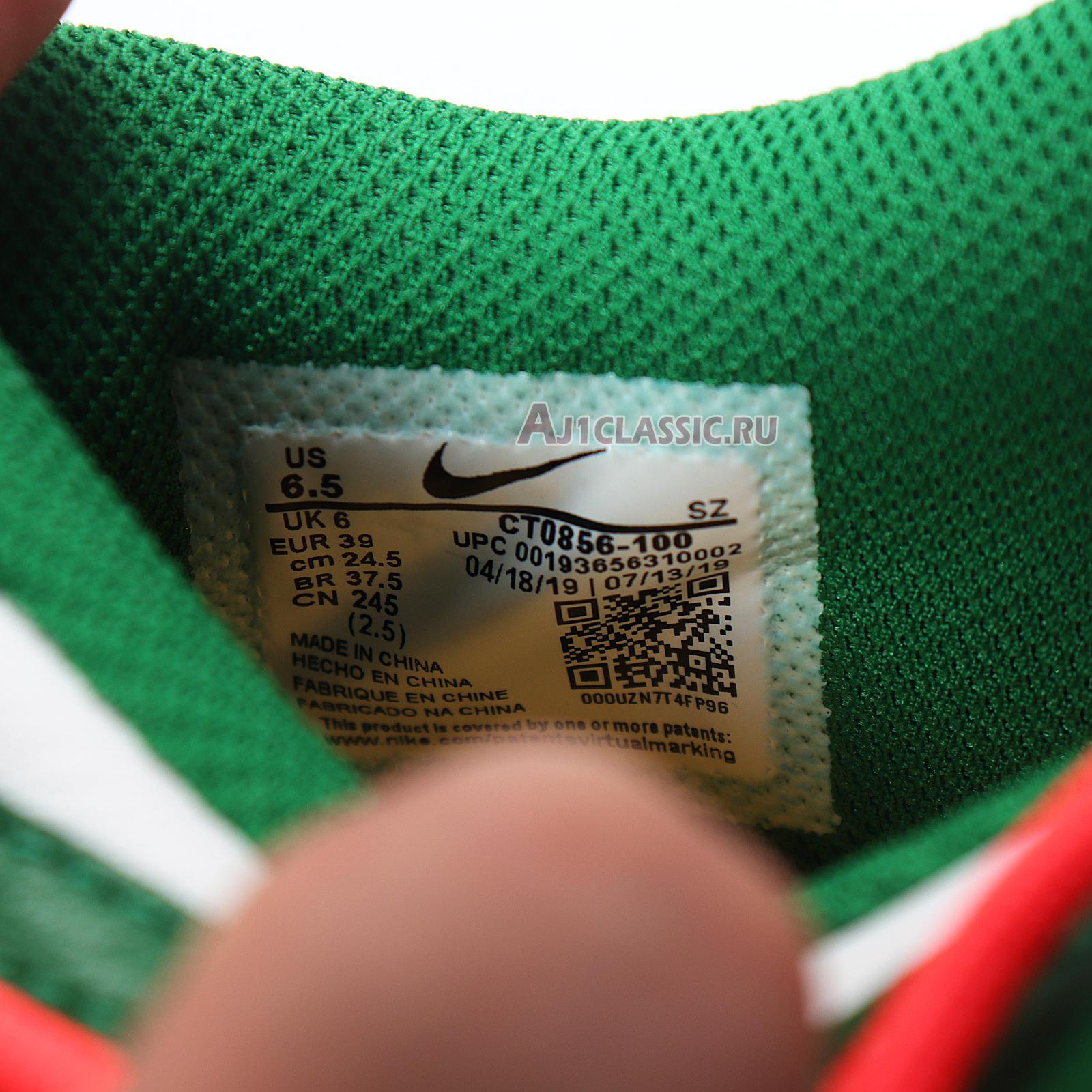 """Nike Off-White x Dunk Low """"Pine Green"""" CT0856-100"""