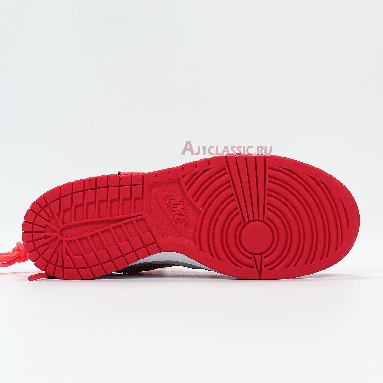 Nike Off-White x Dunk Low University Red CT0856-600 University Red/University Red/Wolf Grey Sneakers