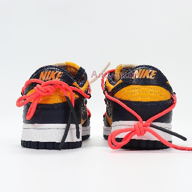 Nike Off-White x Dunk Low University Gold CT0856-700 University Gold/Midnight Navy/White Sneakers