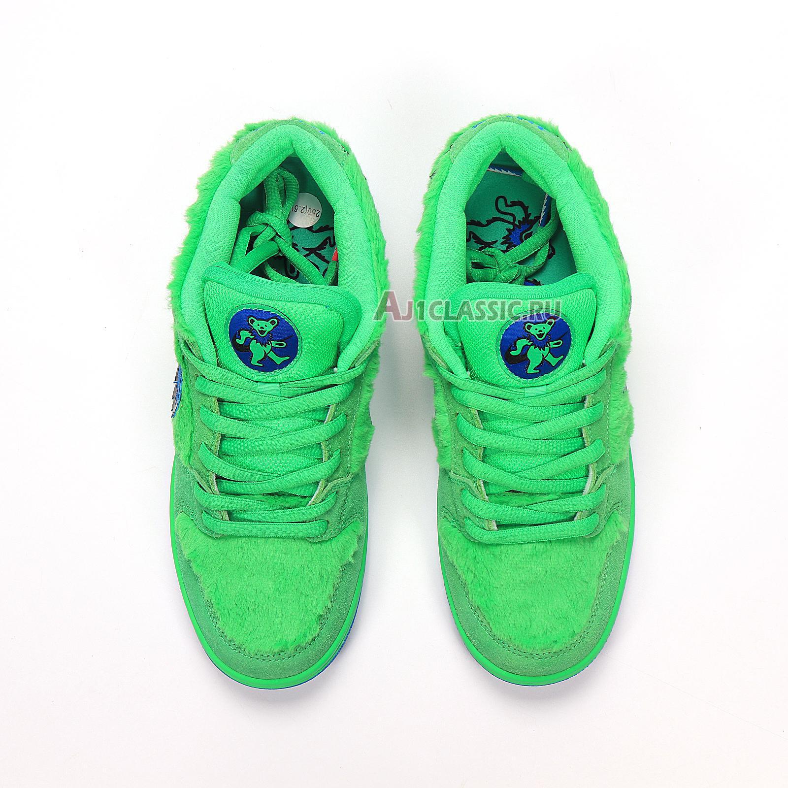 """Nike Grateful Dead x Dunk Low SB """"Green Bear"""" CJ5378-300"""