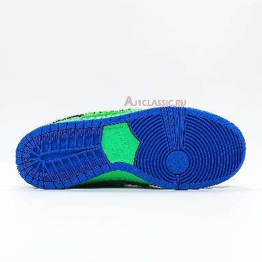 Nike Grateful Dead x Dunk Low SB Green Bear CJ5378-300 Electric Green/Game Royal/Black Sneakers