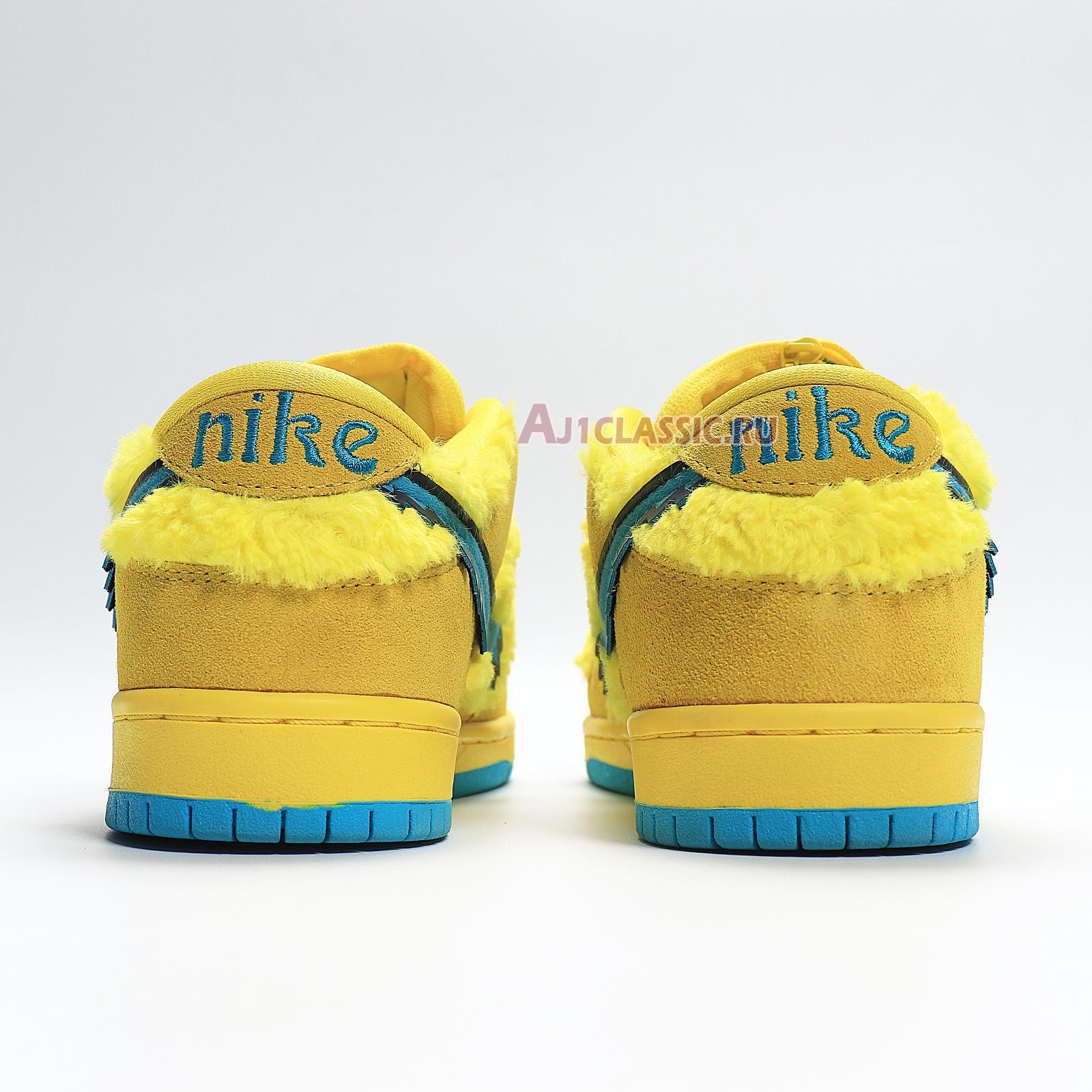 "Nike Grateful Dead x Dunk Low SB ""Yellow Bear"" CJ5378-700"
