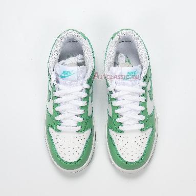 Nike Dunk Low Green Glow CU1726-188 White/Green Glow Sneakers