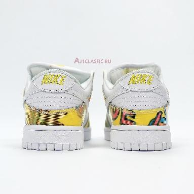 Nike Dunk Low Pro SB De La Soul 304292-171 White/Yellow Sneakers