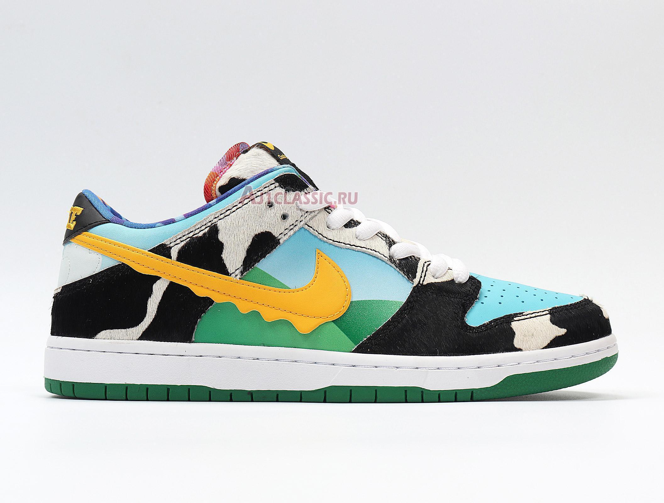 "Nike Ben Jerrys x Dunk Low SB ""Chunky Dunky"" CU3244-100"